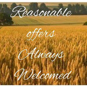 Reasonable Offers Always Welcomed!!
